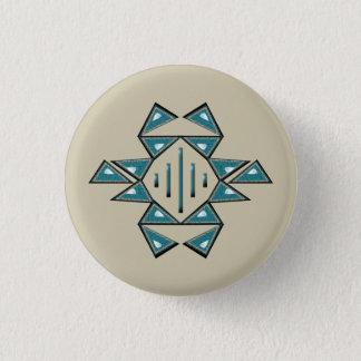 Wohlstands-Knopf Runder Button 3,2 Cm
