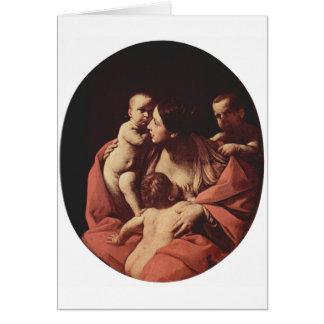 Wohltätigkeit durch Guido Reni Karte