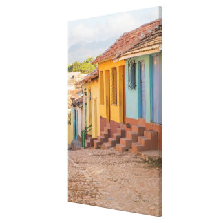 Wohnhäuser, Trinidad, Kuba Leinwanddruck