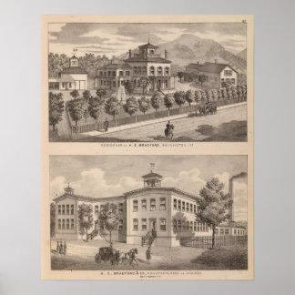 Wohnsitz von IHM Bradford und von IHM Bradford und Poster
