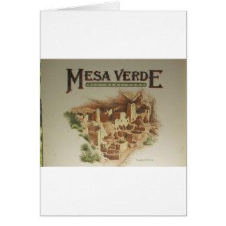 Wohnungen MESAs Verde Anasazi Karte
