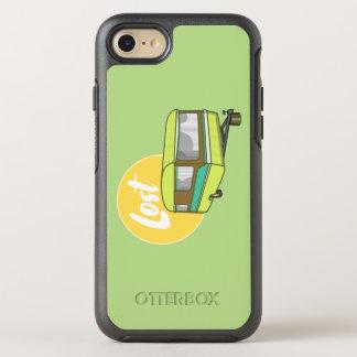 Wohnwagen-verlorener Retro Camper OtterBox Symmetry iPhone 8/7 Hülle