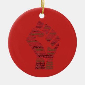 #WokeWednesdays Keramik Ornament