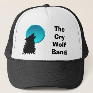 wolf4, das Schrei-Wolf-Band Truckerkappe