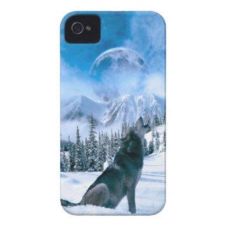 Wolf-Anruf Case-Mate iPhone 4 Hüllen