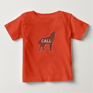 Wolf-Anruf Vintag (v1) Baby T-shirt