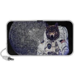Wolf-Astronaut Reise Speaker