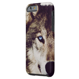 Wolf-Auge IPhone 6 Telefonkasten Tough iPhone 6 Hülle
