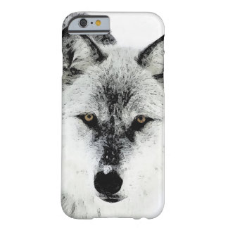 Wolf-Augen Barely There iPhone 6 Hülle