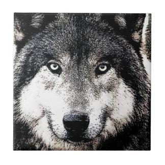 Wolf-Augen Keramikfliese