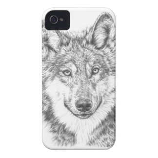 Wolf Case-Mate iPhone 4 Hülle