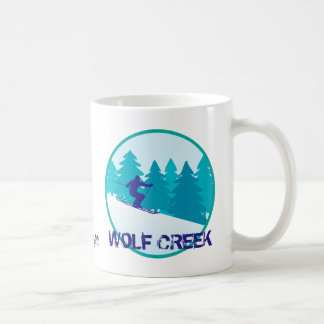 Wolf Creek Ski-Kreis personalisiert Kaffeetasse