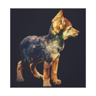 Wolf CUB Leinwanddruck