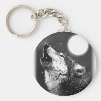 Wolf, der am Mond heult Schlüsselband