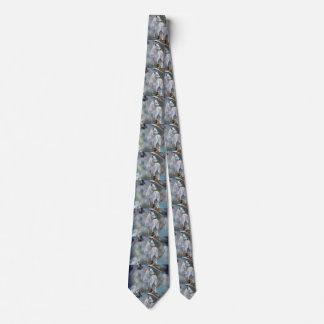 Wolf dreamcatcher - weißer Wolf - Wolfkunst Krawatte