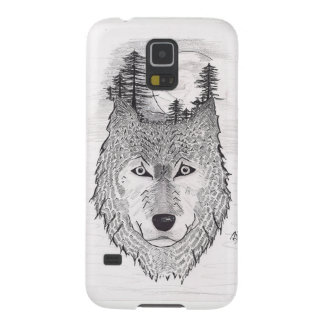 Wolf Galaxy S5 Hülle