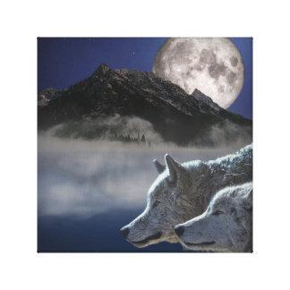 Wolf-Geist Leinwanddruck