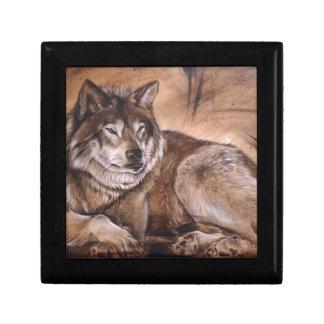 Wolf Geschenkbox