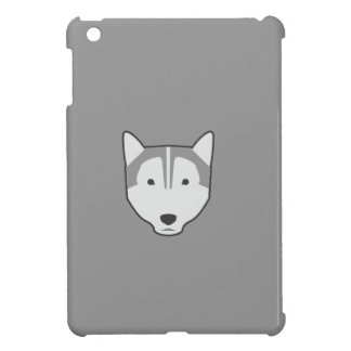 Wolf graues ipad Minifall iPad Mini Cover
