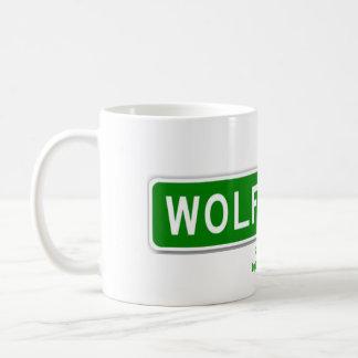 Wolf-Hauben-Tasse Kaffeetasse