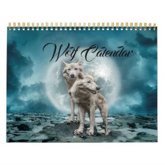 Wolf-Heulen-Mond hat der Abreißkalender