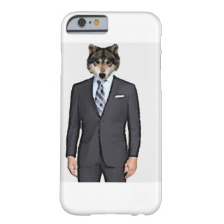 Wolf in a Suit Barely There iPhone 6 Hülle