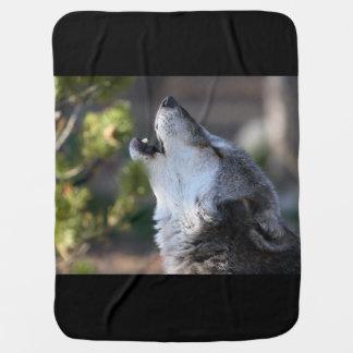 Wolf Kinderwagendecke