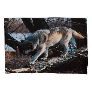Wolf Kissenbezug