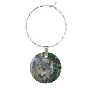 Wolf-Knäuel Glasdekorierung