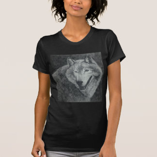 Wolf-Kunst T-Shirt
