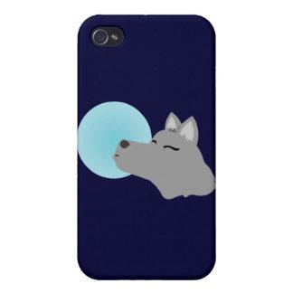 Wolf-Mond iPhone 4 Schutzhülle