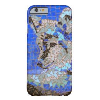 Wolf-Mosaik Barely There iPhone 6 Hülle