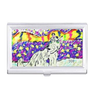 Wolf Northem Licht Visitenkarten Dose
