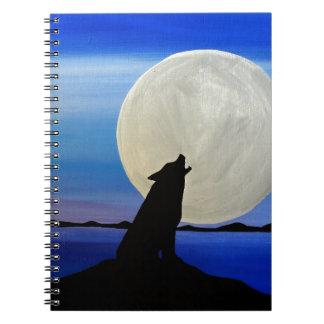 Wolf Notizblock