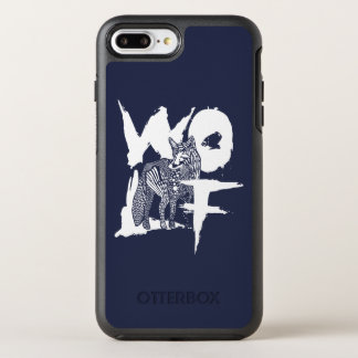 Wolf OtterBox iPhone Fall OtterBox Symmetry iPhone 8 Plus/7 Plus Hülle
