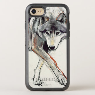 Wolf OtterBox Symmetry iPhone 8/7 Hülle