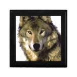 Wolf-Porträt Geschenkbox