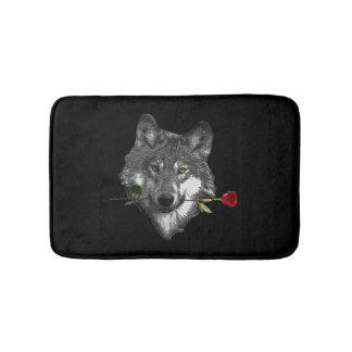 Wolf-Rose Badematte