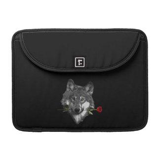 Wolf-Rose Sleeve Für MacBook Pro