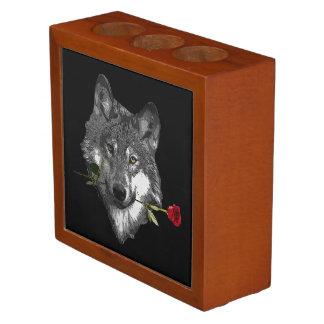 Wolf-Rose Stifthalter