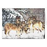 Wolf Satz-BD Grußkarten