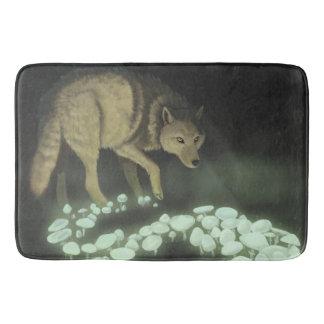 Wolf-schleppende Todespilze Badematte