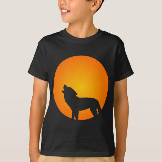 Wolf-Silhouette T-Shirt