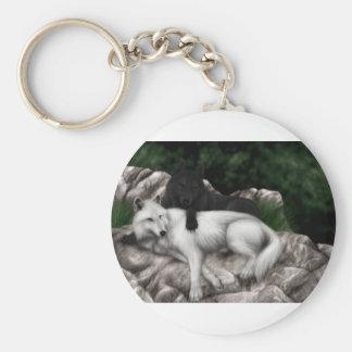 Wolf-Spiel Schlüsselanhänger