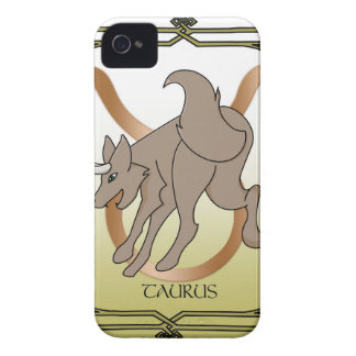 Wolf-Stier iPhone 4 Cover