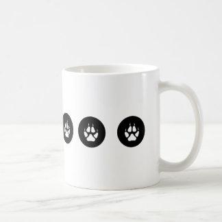 Wolf-Tatzen-Tasse Kaffeetasse