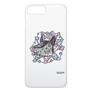 Wolf und Schneeflocke iPhone 8 Plus/7 Plus Hülle