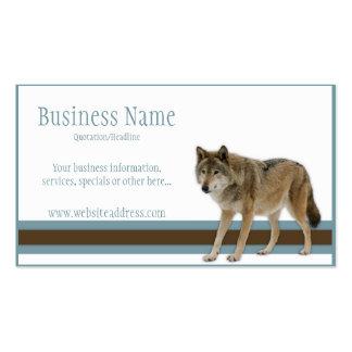Wolf-Visitenkarten