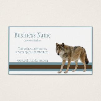 Wolf-Visitenkarten Visitenkarten