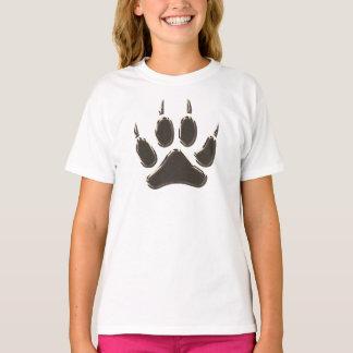 Wolfabdruck T-Shirt